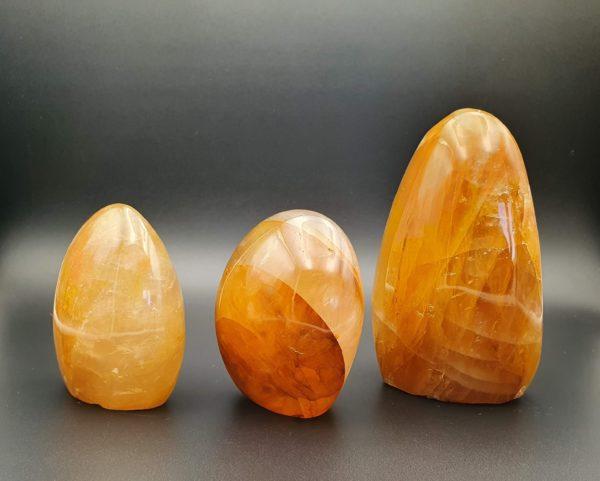 Quartz hématoide orange