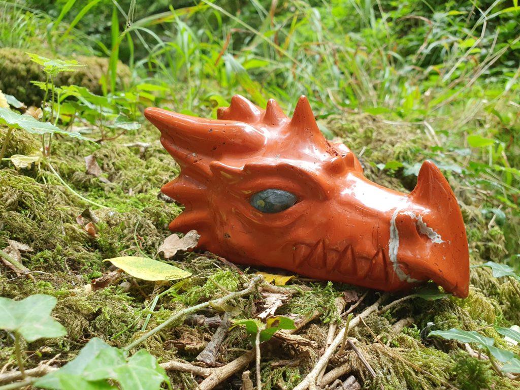 dragon japse rouge
